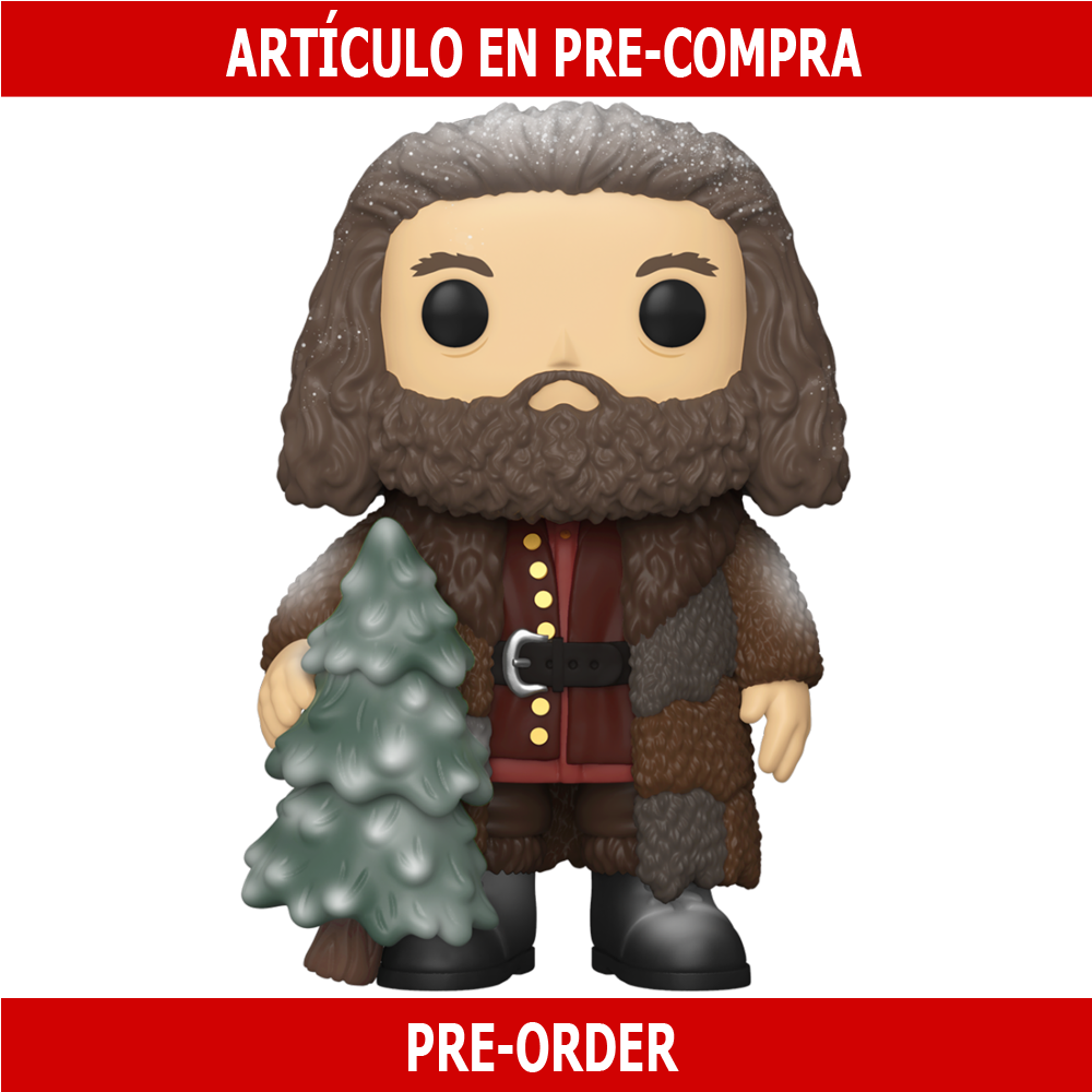"PRE-COMPRA - POP HP: HOLIDAY - 6"" HAGRID"