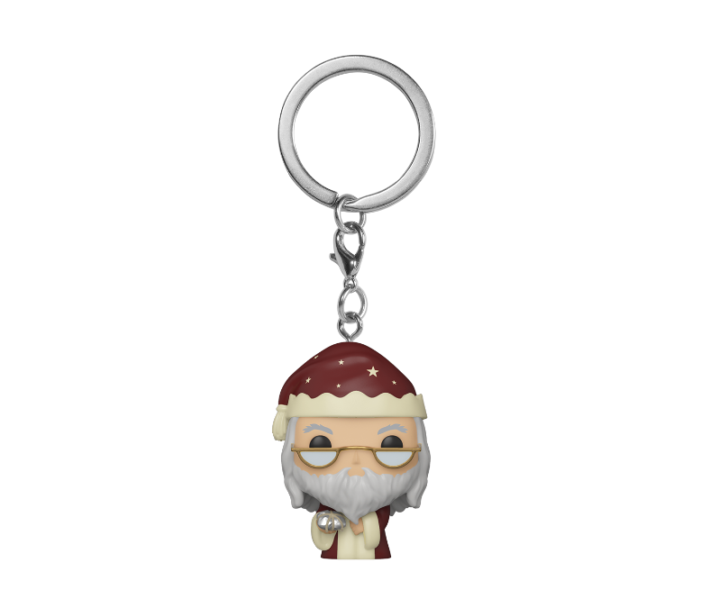 POP KEYCHAIN: HP HOLIDAY - DUMBLEDORE
