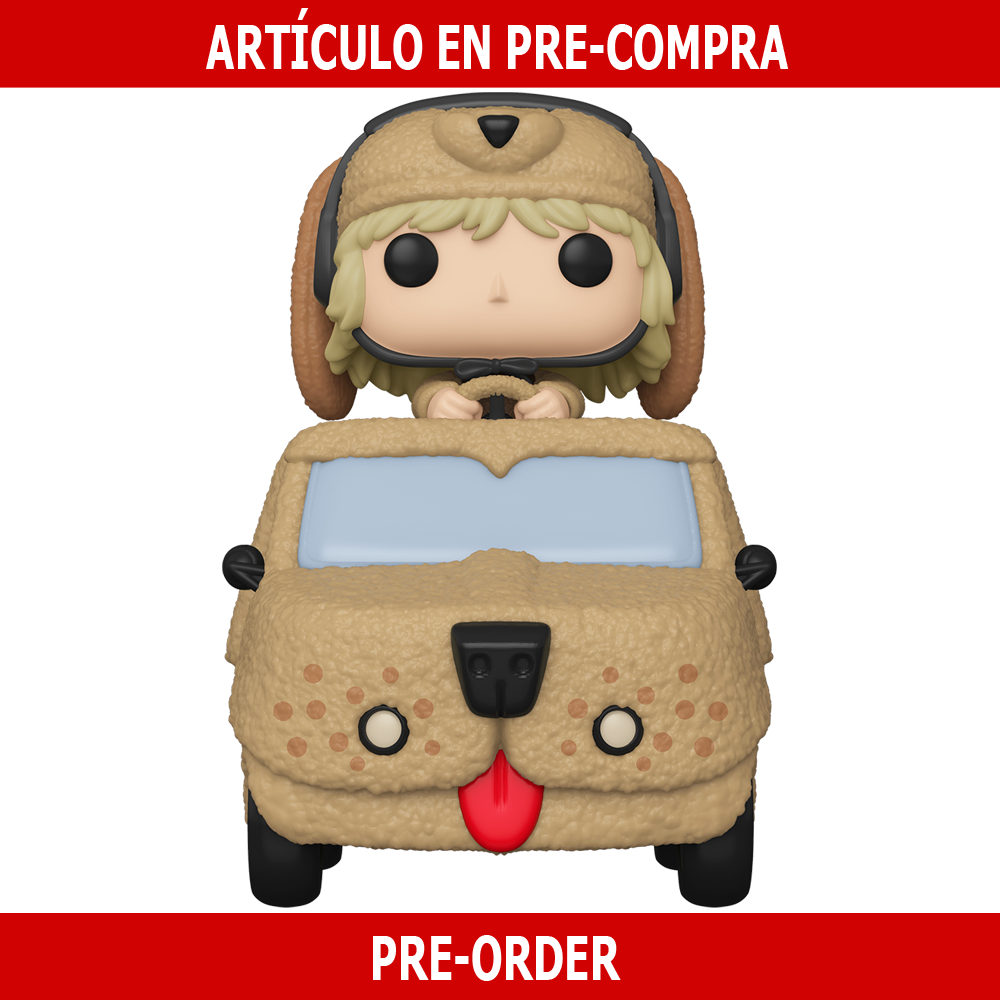 PRE-COMPRA - POP RIDE DELUXE: DUMB AND DUMBER - HARRY W/MUTT CUTTS VAN