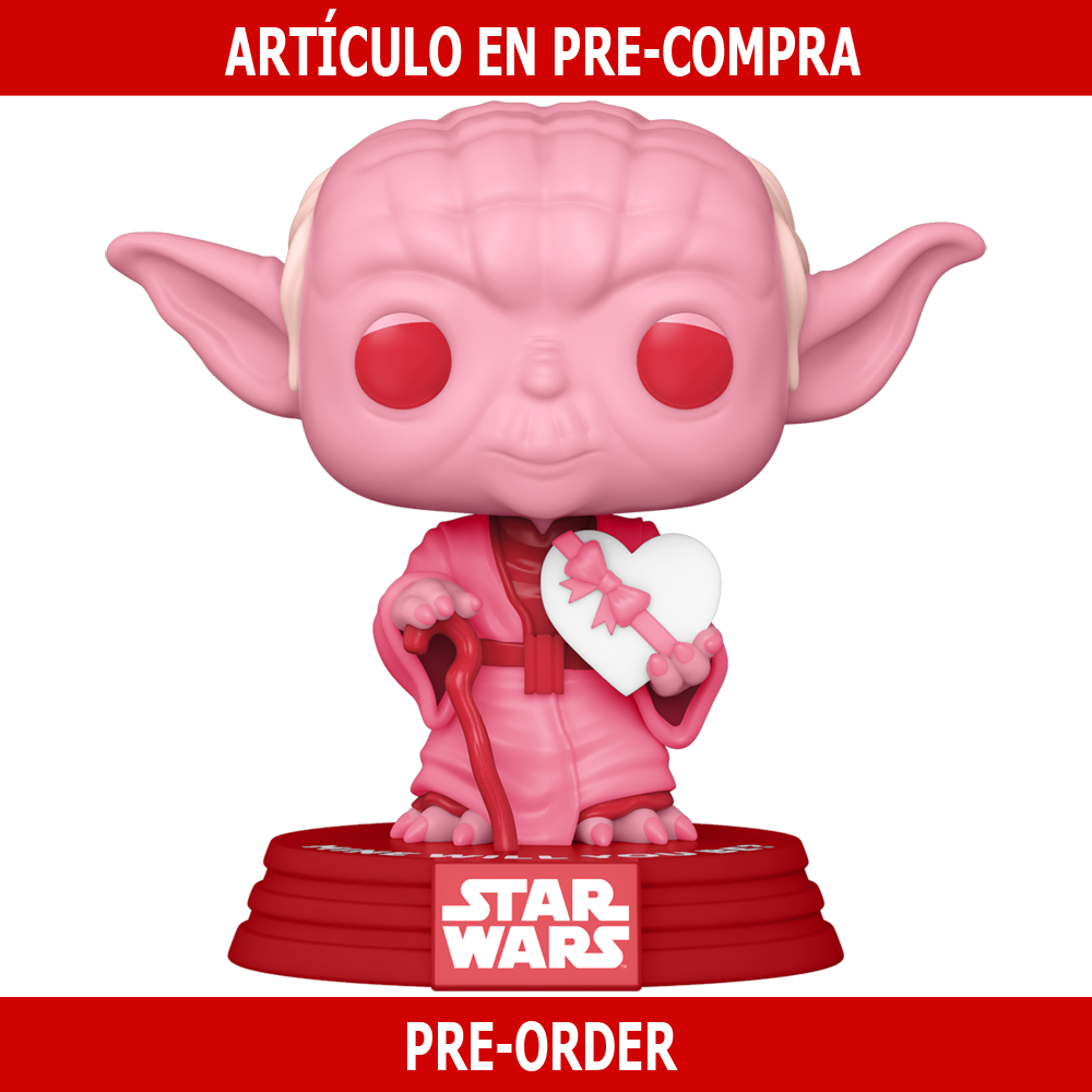PRE-COMPRA - POP STAR WARS: VALENTINES -YODA W/HEART
