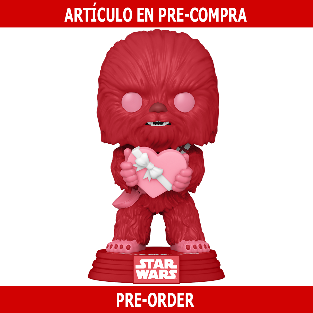 PRE-COMPRA - POP STAR WARS: VALENTINES -CUPID CHEWBACCA