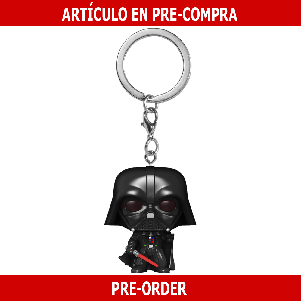 PRE-COMPRA - POP KEYCHAIN: STAR WARS -DARTH VADER