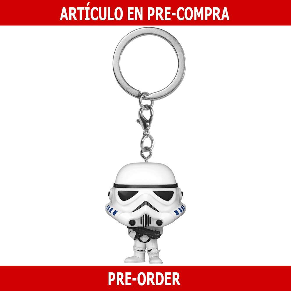 PRE-COMPRA - POP KEYCHAIN: STAR WARS -STORMTROOPER