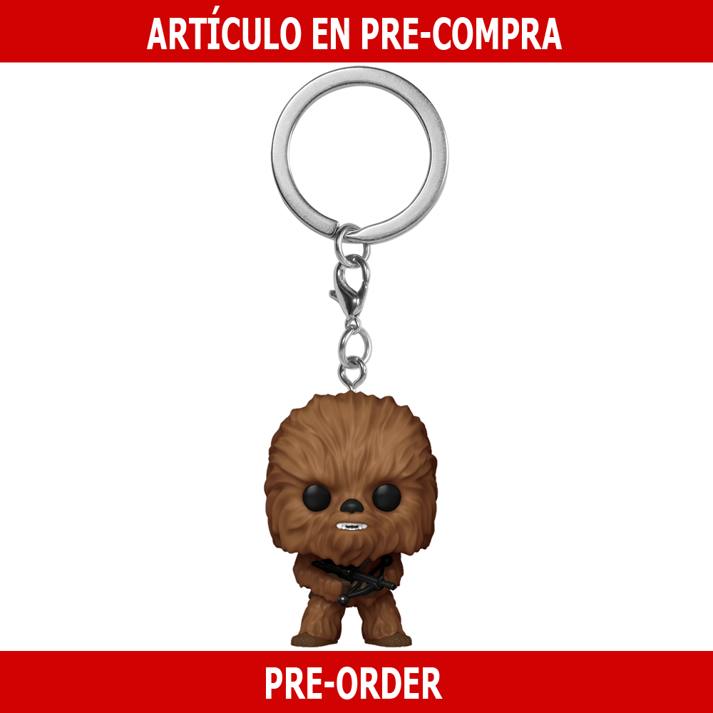 PRE-COMPRA - POP KEYCHAIN: STAR WARS -CHEWBACCA