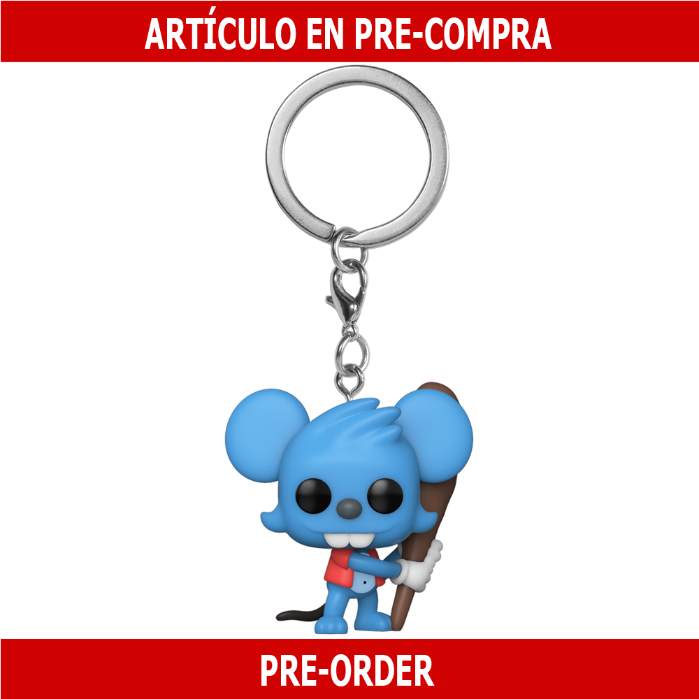 PRE-COMPRA - POP KEYCHAINS: SIMPSONS - ITCHY