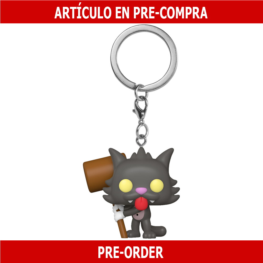 PRE-COMPRA - POP KEYCHAINS: SIMPSONS - SCRATCHY