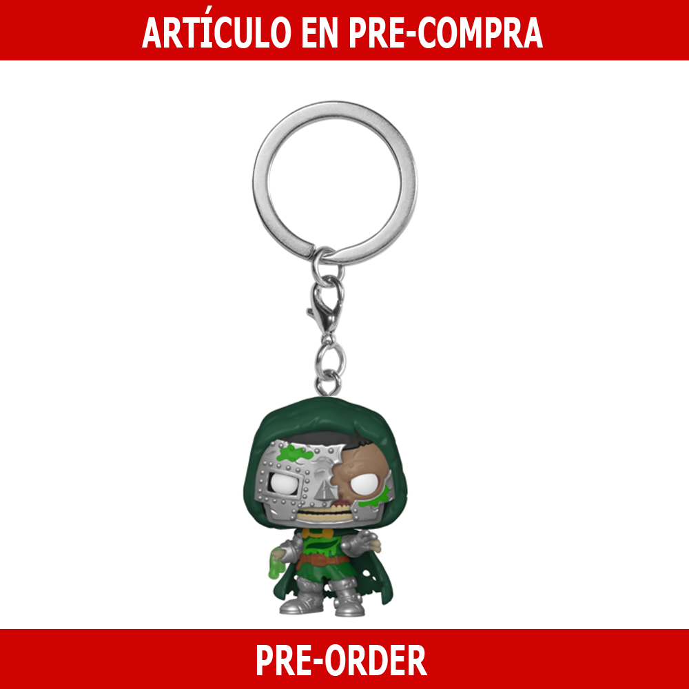 PRE-COMPRA - POP KEYCHAIN: MARVEL ZOMBIES -DR. DOOM