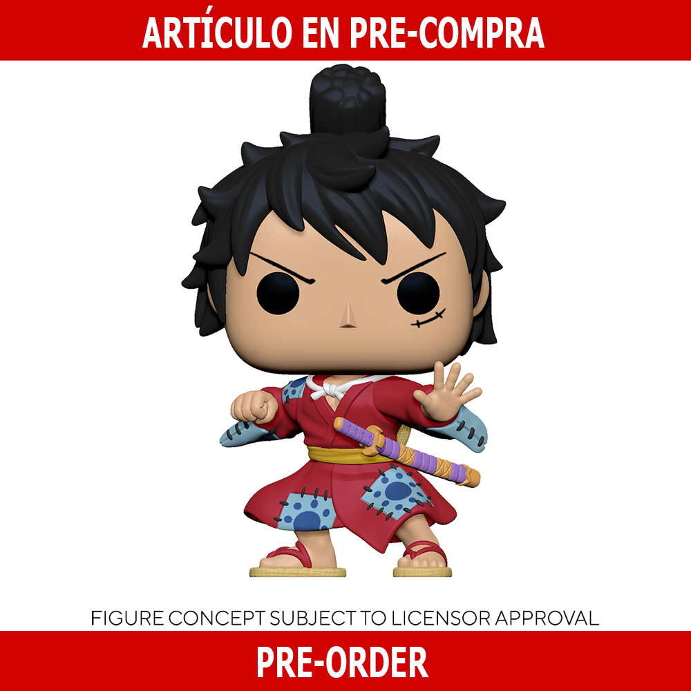 PRE-COMPRA - POP ANIMATION: ONE PIECE -LUFFY IN KIMONO