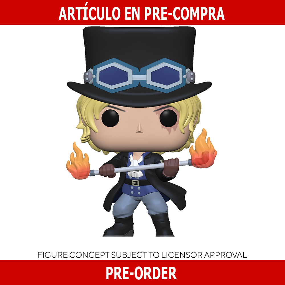 PRE-COMPRA - POP ANIMATION: ONE PIECE -SABO