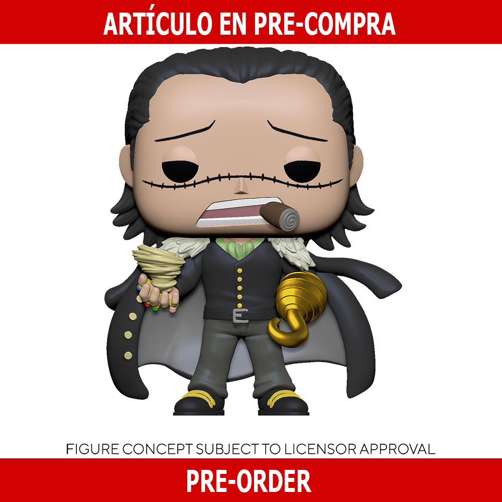 PRE-COMPRA - POP ANIMATION: ONE PIECE -CROCODILE