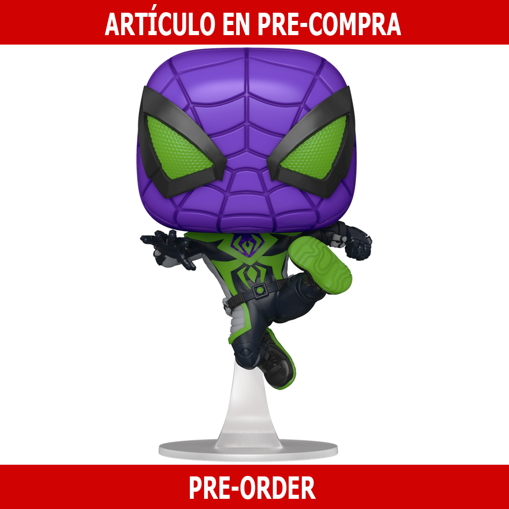 PRE-COMPRA - POP GAMES: MILES MORALES -PURPLE REIGN SUIT(METALLIC)