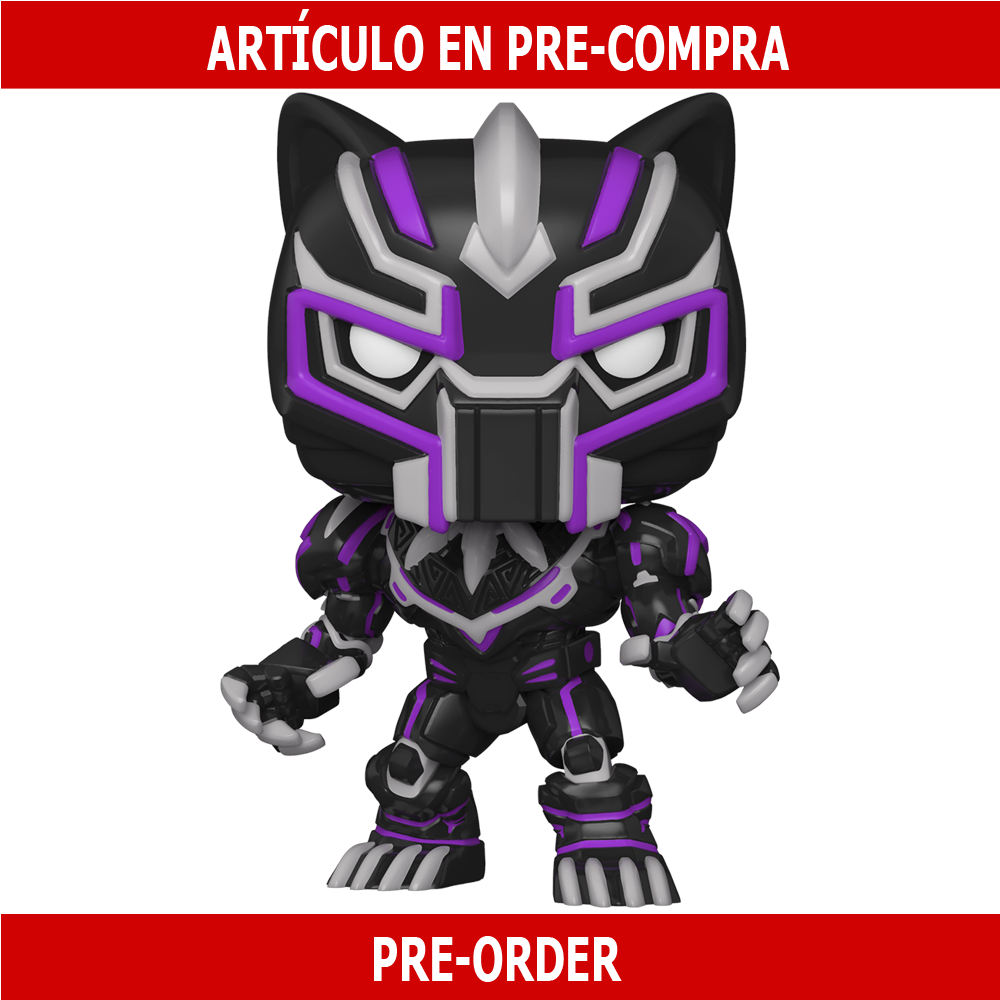 PRE-COMPRA - POP MARVEL: MARVEL MECH- BLACK PANTHER