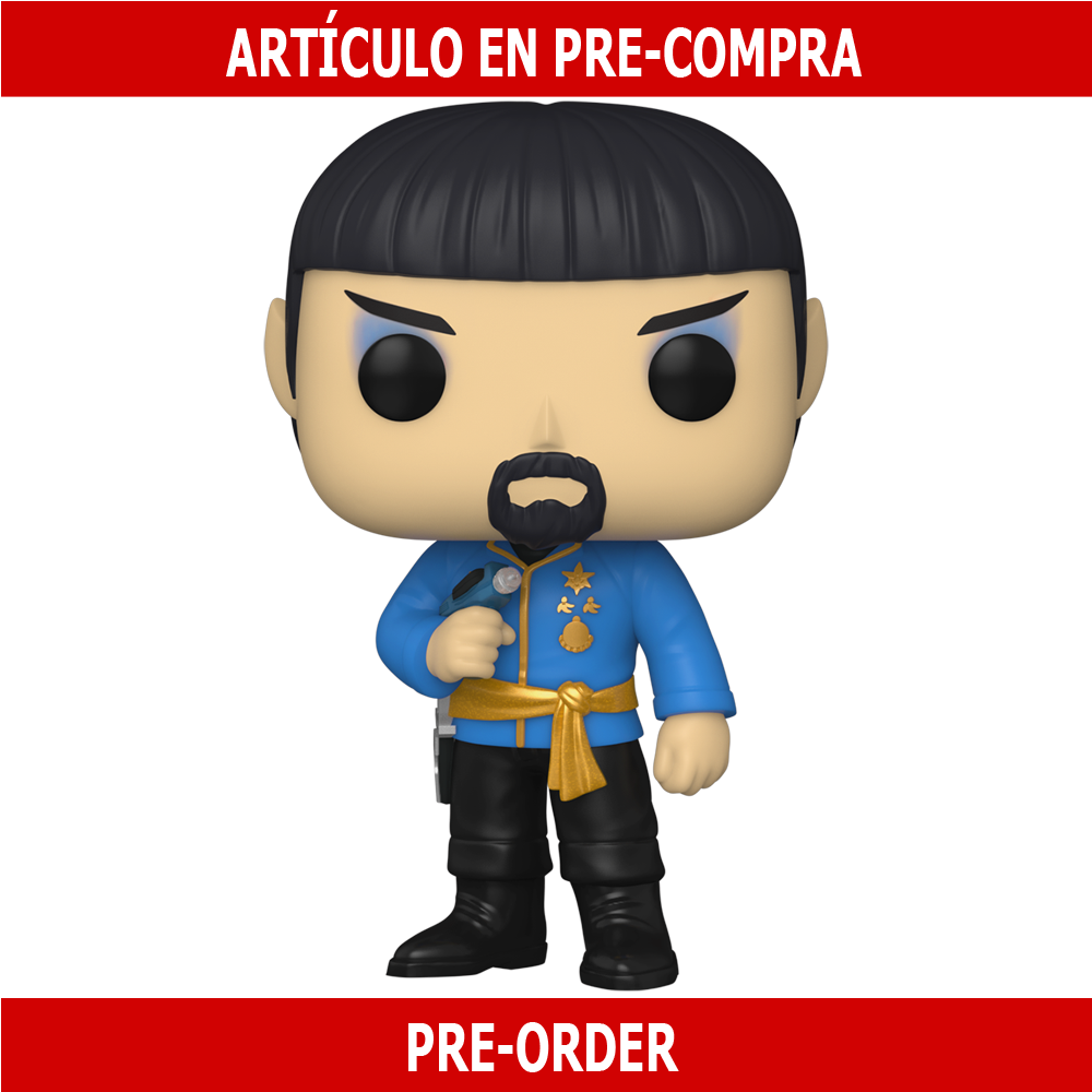 PRE-COMPRA - POP TV: STAR TREK- SPOCK (MIRROR MIRROR OUTFIT)