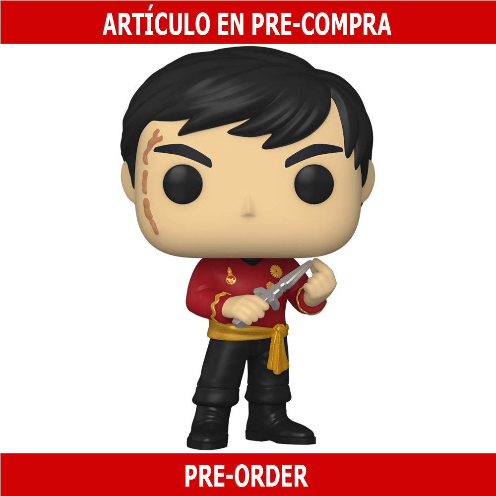 PRE-COMPRA - POP TV: STAR TREK- SULU (MIRROR MIRROR OUTFIT)