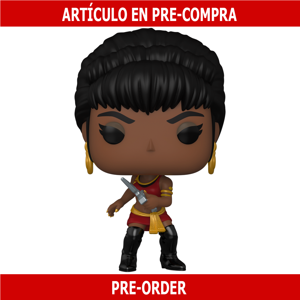 PRE-COMPRA - POP TV: STAR TREK- UHURA (MIRROR MIRROR OUTFIT)