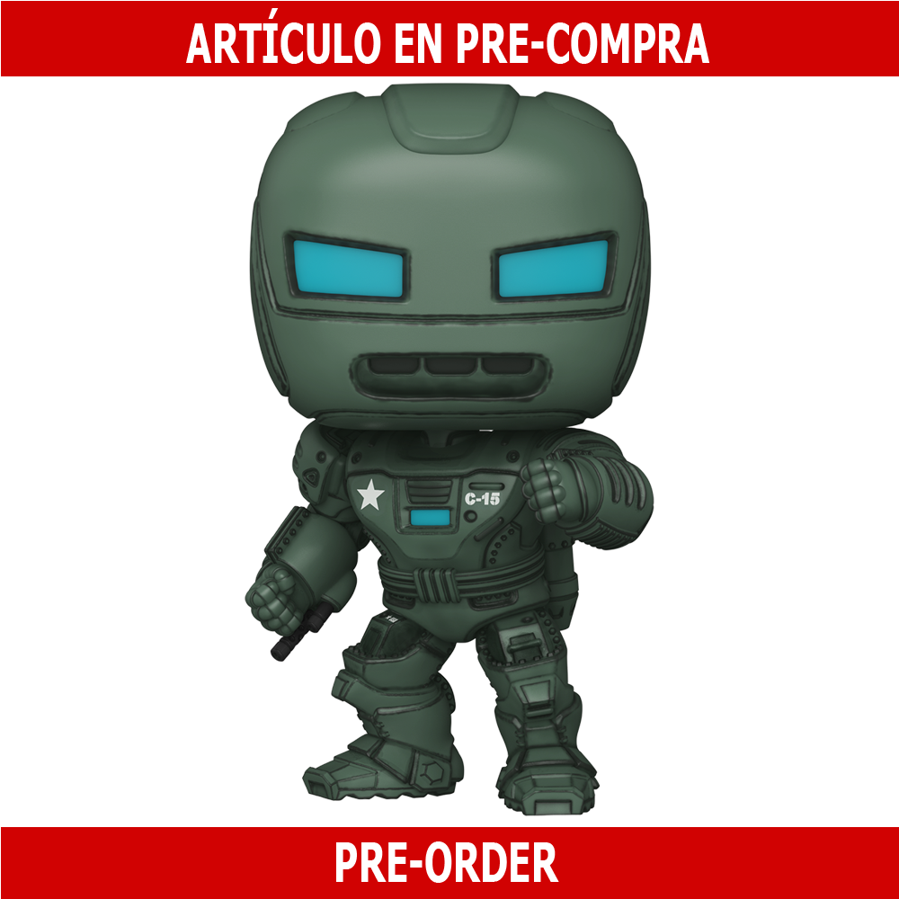 PRE-COMPRA - POP MARVEL: WHAT IF- HYDRA STOMPER OVERSIZED