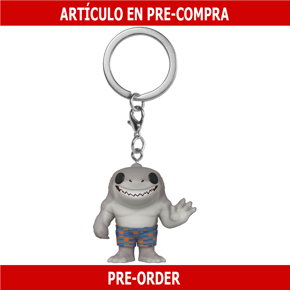 PRE-COMPRA - POP KEYCHAIN: THE SUICIDE SQUAD - KING SHARK