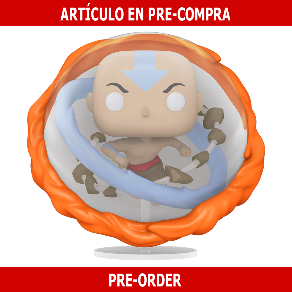 PRE-COMPRA - POP ANIMATION: AVATAR - AANG ALL ELEMENTS OVERSIZED