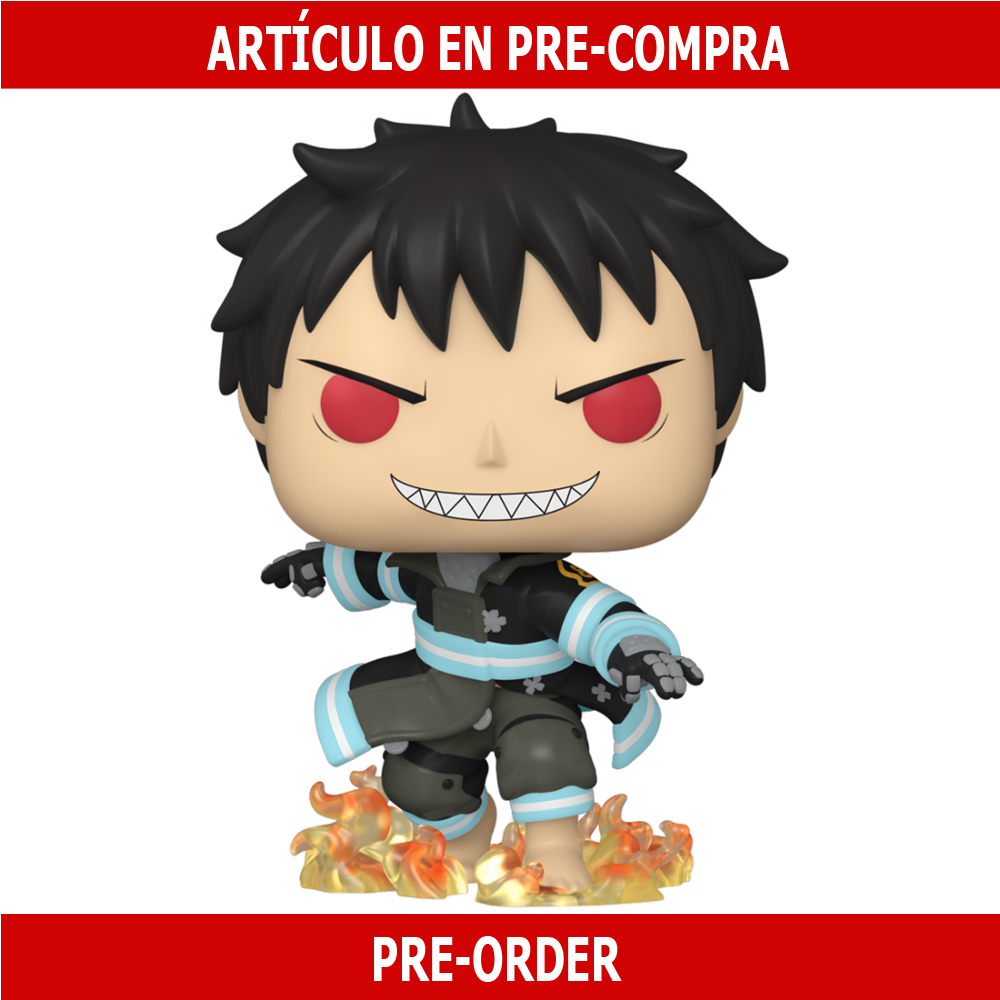 PRE-COMPRA - POP ANIMATION: FIRE FORCE - SHINRA WITH FIRE