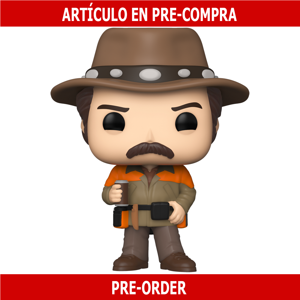 PRE-COMPRA - POP TV: PARKS AND RECREATION - HUNTER RON