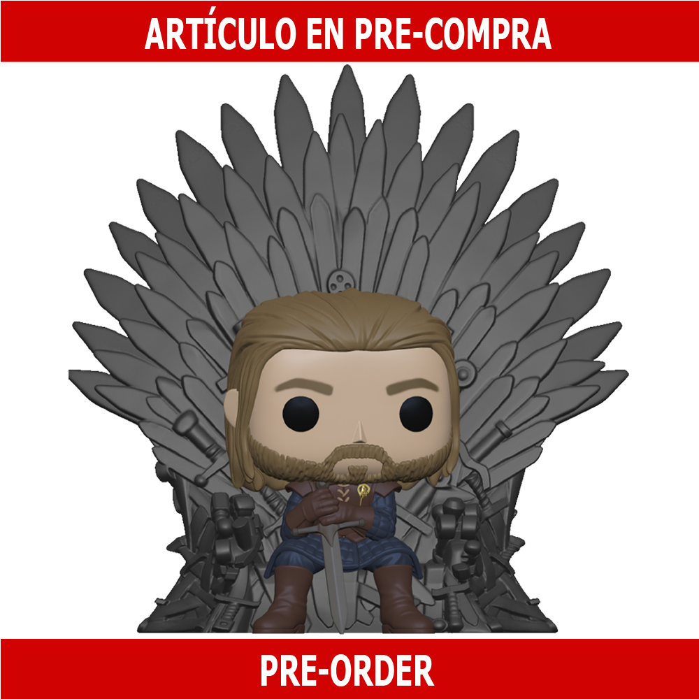PRE-COMPRA - POP DELUXE: GAME OF THRONES - NED STARK ON THRONE
