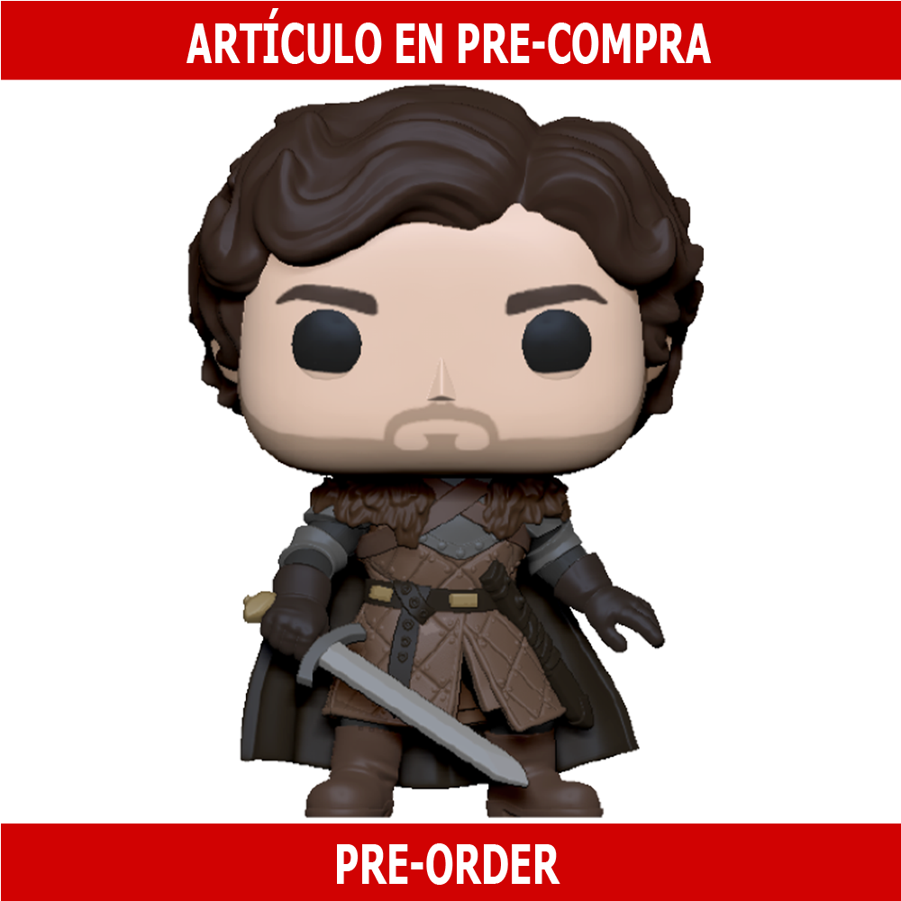 PRE-COMPRA - POP TV: GAME OF THRONES - ROBB STARK W/SWORD