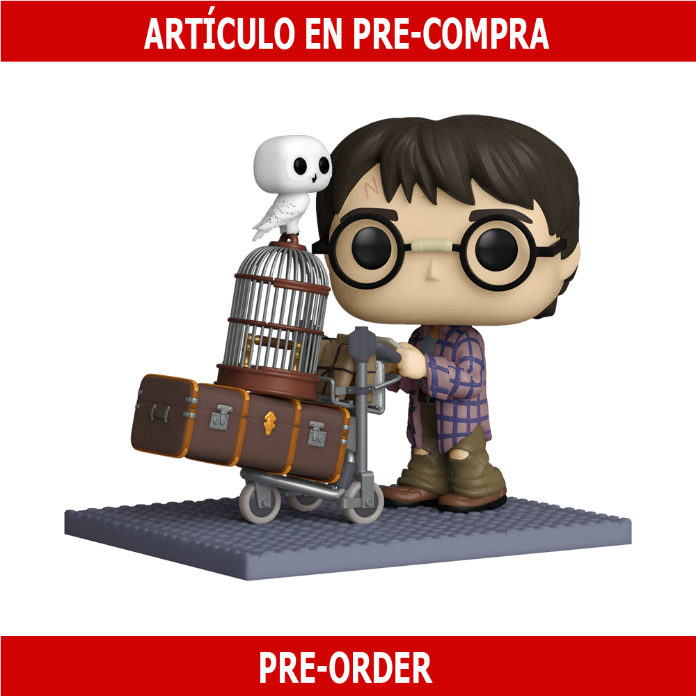 PRE-COMPRA - POP DELUXE: HP ANNIVERSARY- HARRY PUSHING TROLLEY