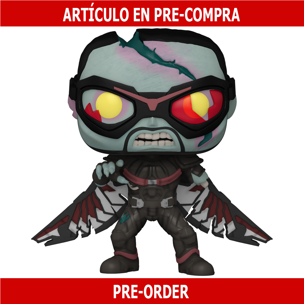 PRE-COMPRA - POP MARVEL: WHAT IF - ZOMBIE FALCON