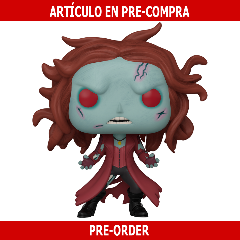 PRE-COMPRA - POP MARVEL: WHAT IF - ZOMBIE SCARLET WITCH