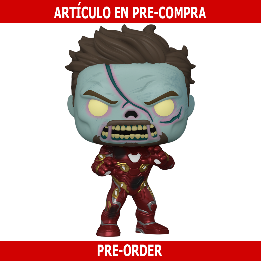 PRE-COMPRA - POP MARVEL: WHAT IF - ZOMBIE IRON MAN