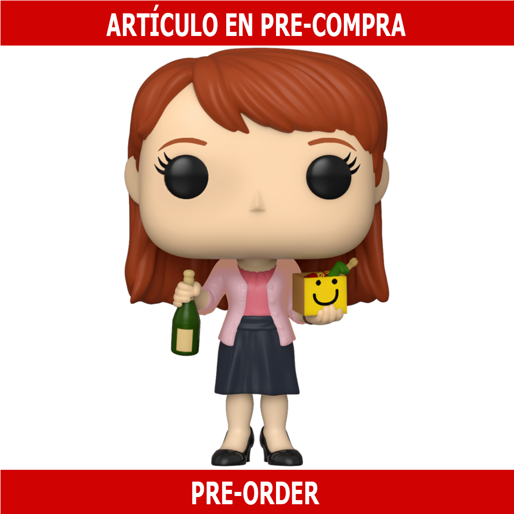 PRE-COMPRA - POP TV: THE OFFICE- ERIN WITH HAPPY BOX AND CHAMPAGNE