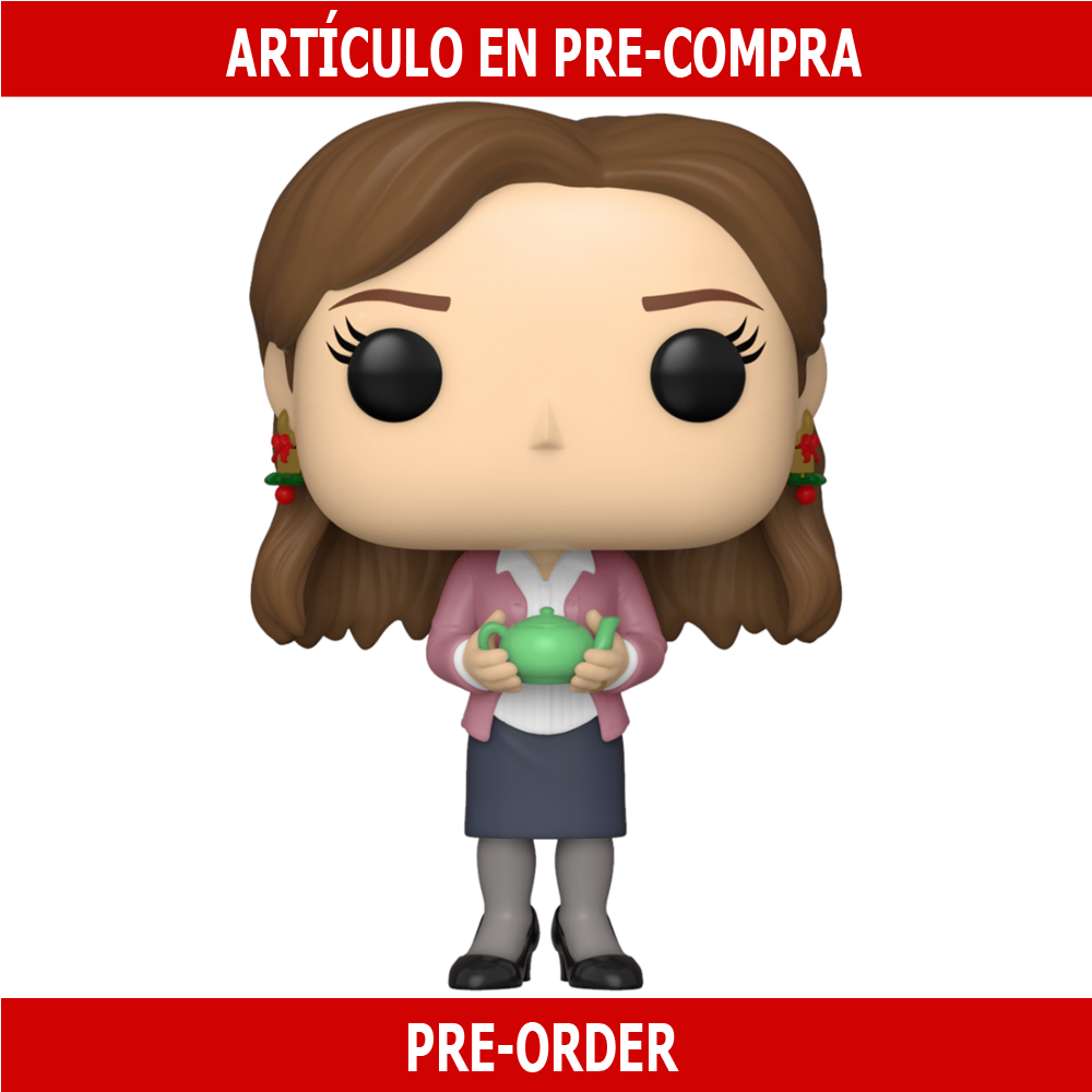 PRE-COMPRA - POP TV: THE OFFICE- PAM WITH TEAPOT AND NOTE