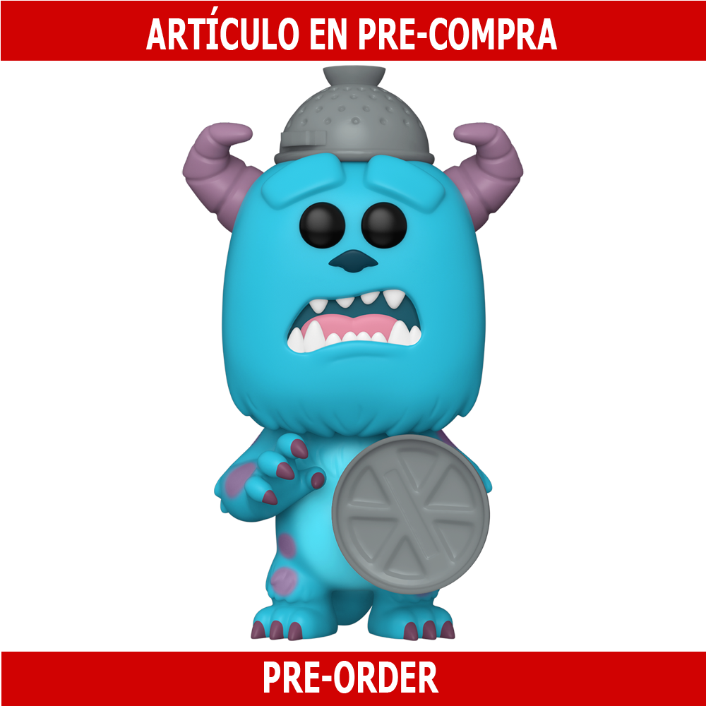 PRE-COMPRA - POP DISNEY: MONSTERS INC 20TH- SULLEY WITH LID