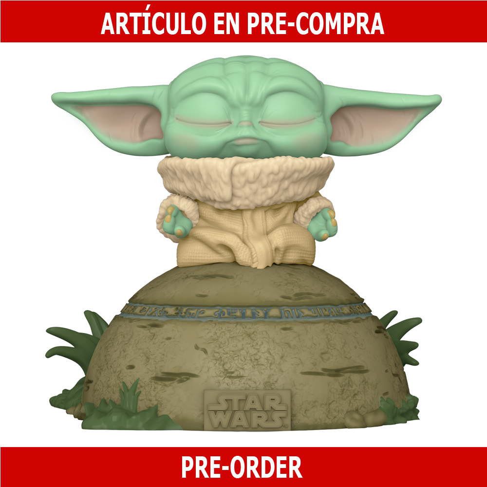 PRE-COMPRA - POP DELUXE: THE MANDALORIAN- THE CHILD USING THE FORCE (SFX)