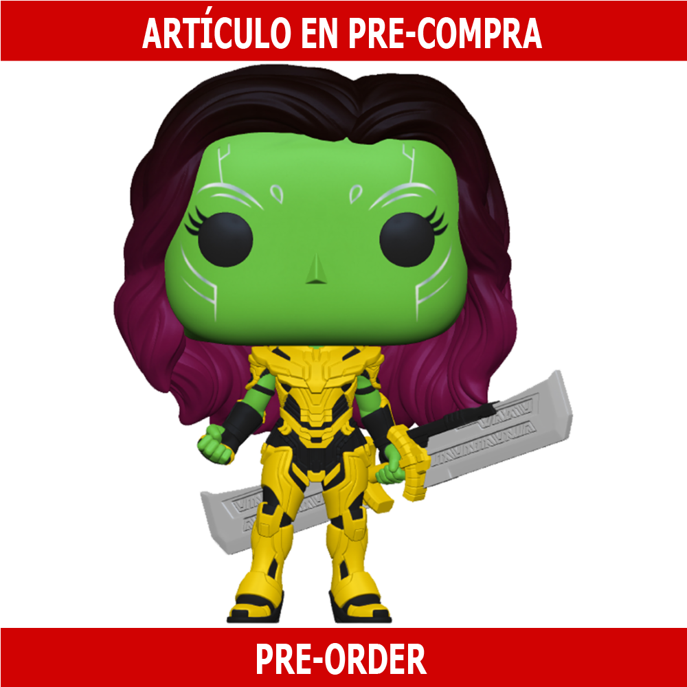 PRE-COMPRA - POP MARVEL: WHAT IF - GAMORA WITH BLADE OF THANOS
