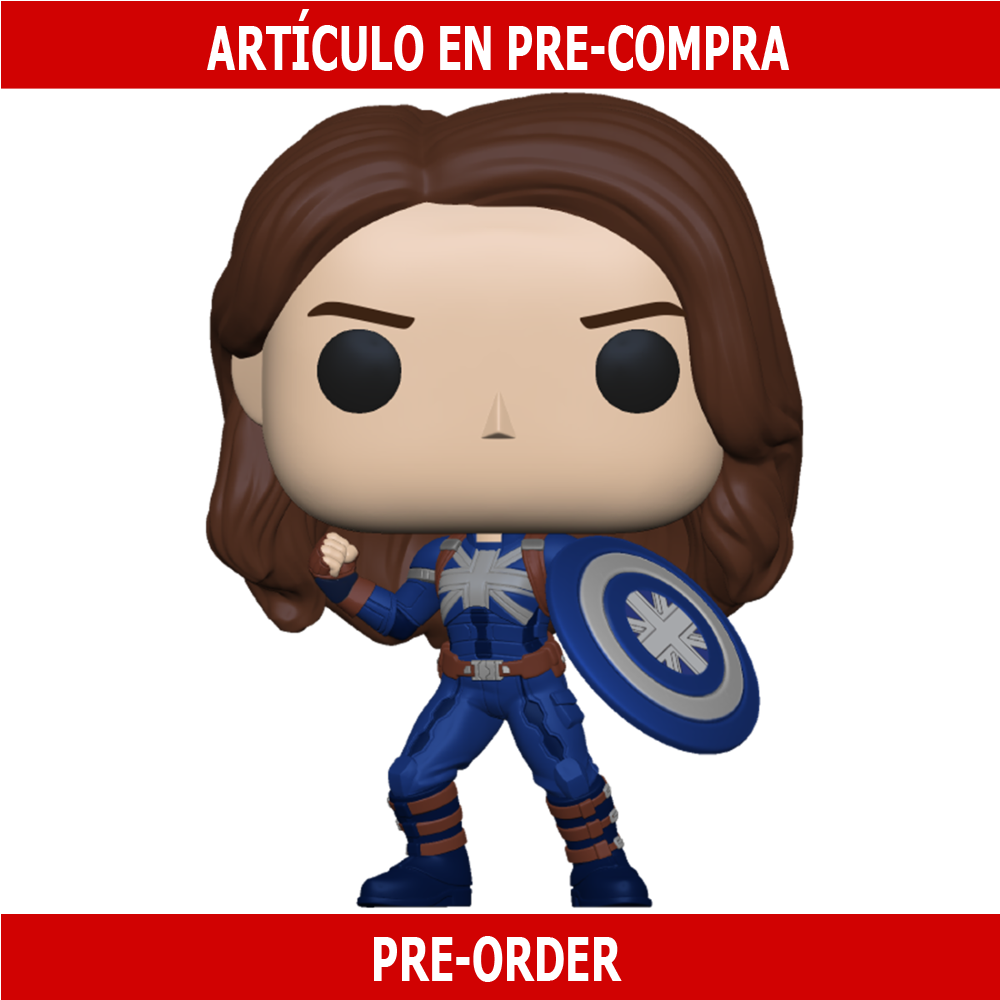 PRE-COMPRA - POP MARVEL: WHAT IF - CAPTAIN CARTER (STEALTH)