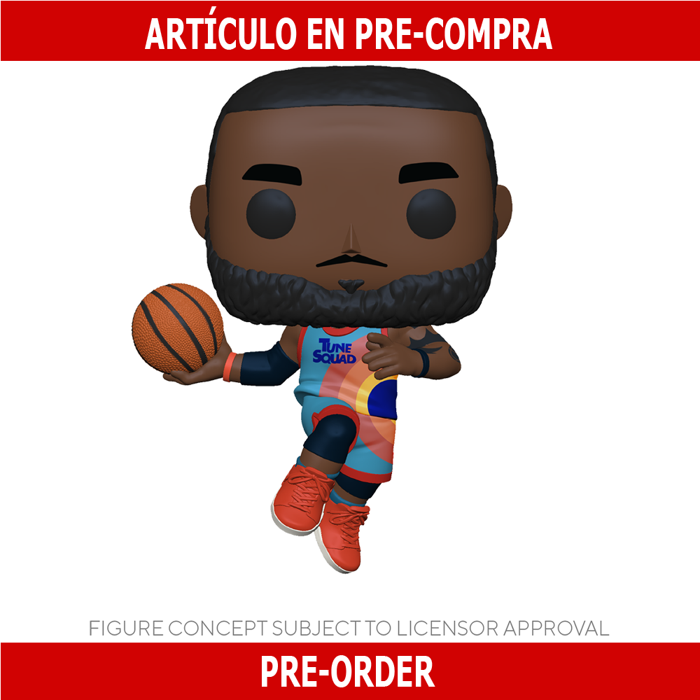 PRE-COMPRA - POP MOVIES: SPACE JAM 2 – LEBRON (LEAPING)