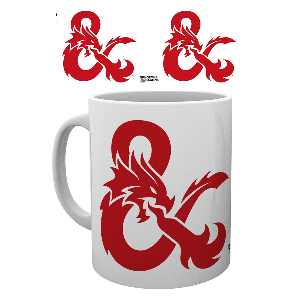 DUNGEONS AND DRAGONS TAZA AMPERSAND