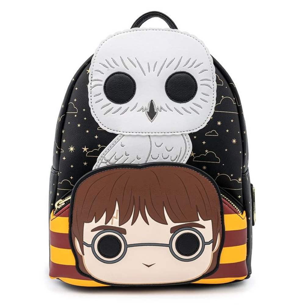 PRE-COMPRA - MINI MOCHILA LOUNGEFLY  HARRY POTTER: HEDWIG COSPLAY