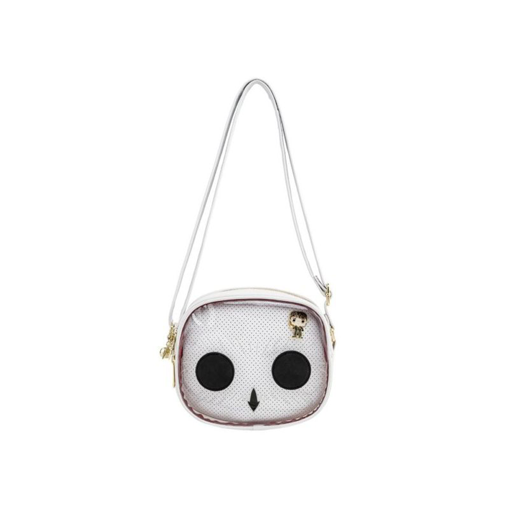 BOLSO LOUNGEFLY HARRY POTTER HEDWIG: PIN TRADER