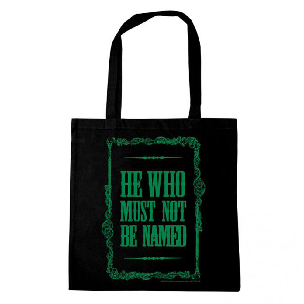 HARRY POTTER BOLSO HE WHO MUST NOT BE NAMED