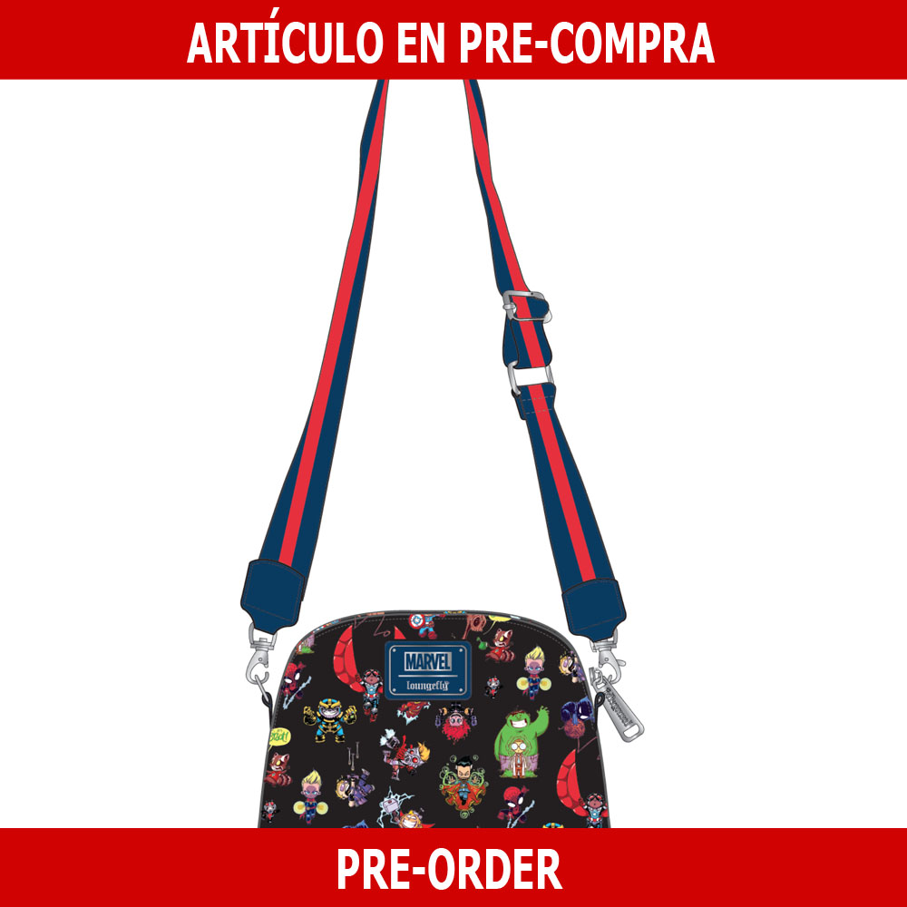 PRE-COMPRA - BOLSO LOUNGEFLY MARVEL: SKOTTIE YOUNG CHARACTERS