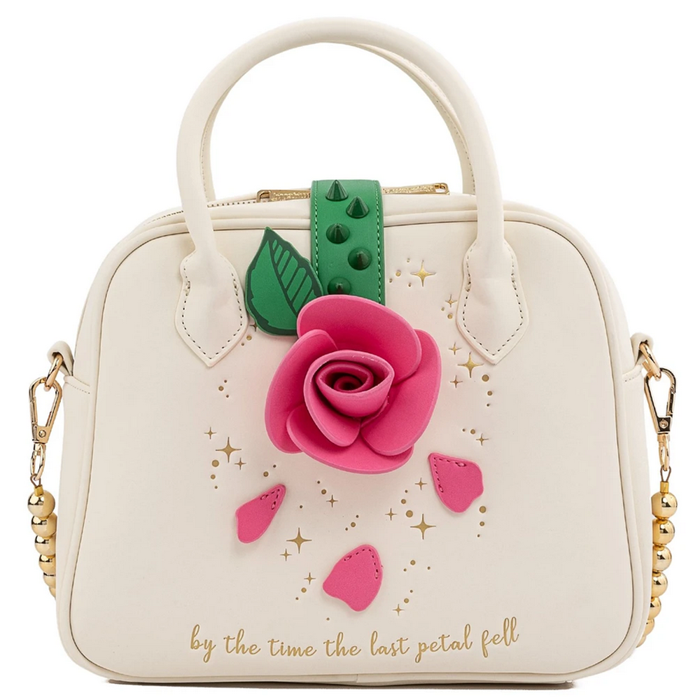 PRE-COMPRA - BOLSO LOUNGEFLY DISNEY: BEAUTY AND THE BEAST ROSE