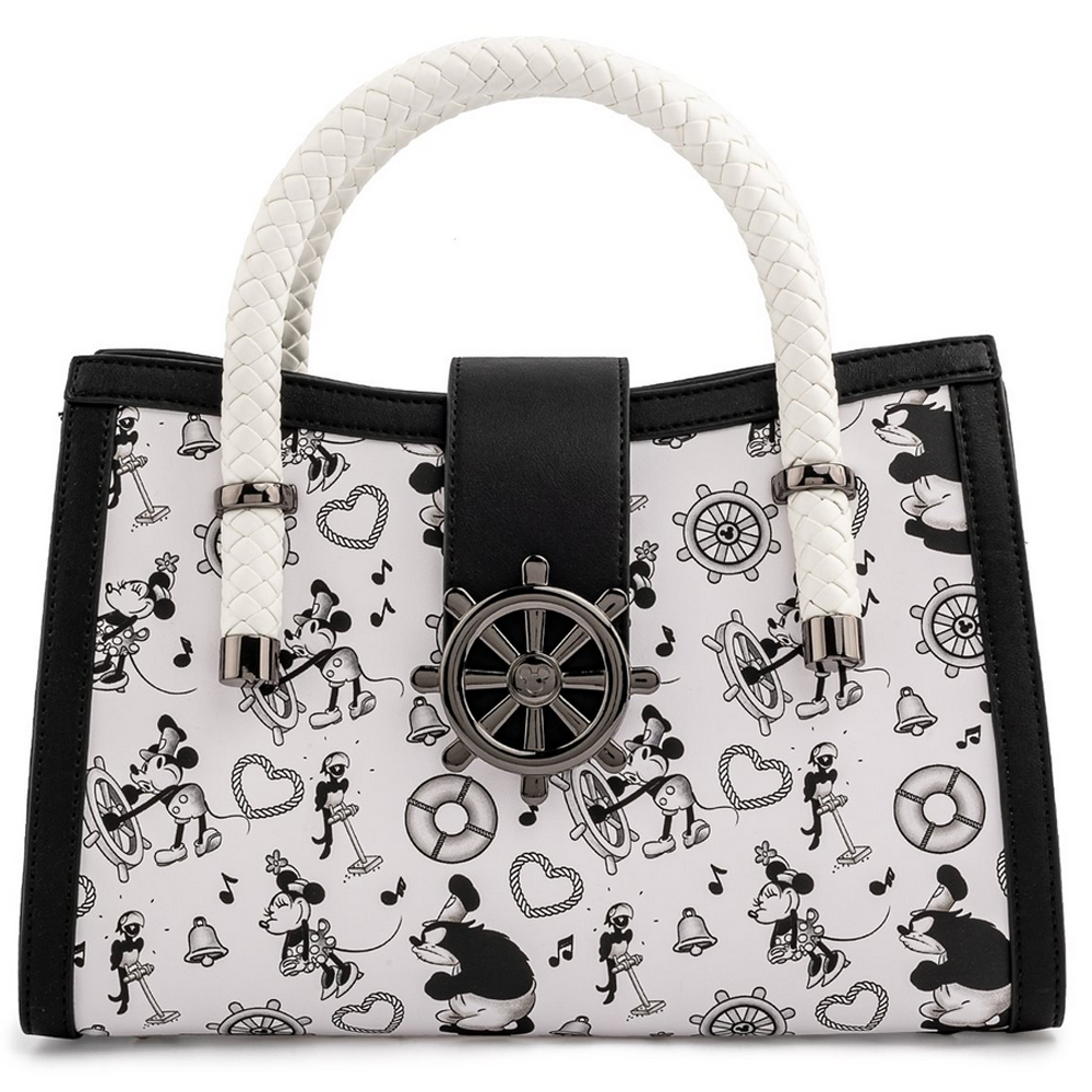PRE-COMPRA - BOLSO LOUNGEFLY DISNEY: STEAMBOAT WILLIE