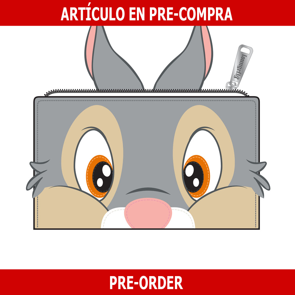 PRE-COMPRA - CARTERA LOUNGEFLY DISNEY: THUMPER COSPLAY
